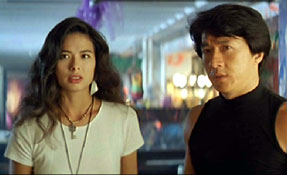 Françoise Yip & Jackie Chan